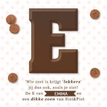 - sinterklaas-chocoladeletter-E