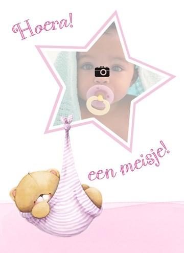 - fotokaart-forever-friends-hoera-een-meisje-ster