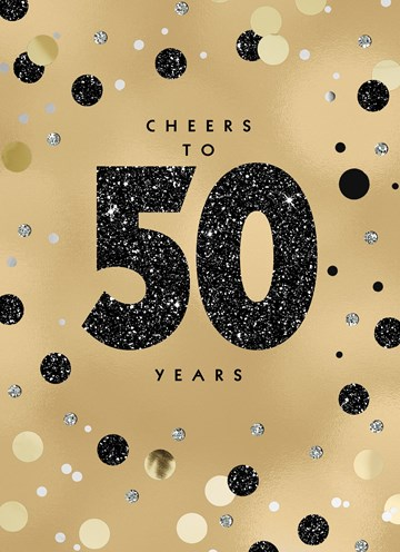 - Verjaardagskaart-leeftijden-man-vrouw-50-goud-met-stippen