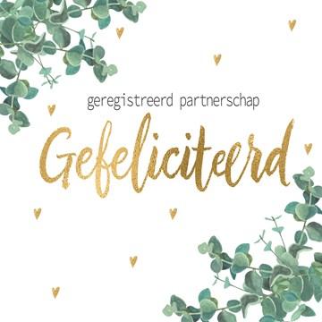 Huwelijkskaart - Kaart-Gefeliciteerd-met-jullie-Geregistreerd-partnerschap
