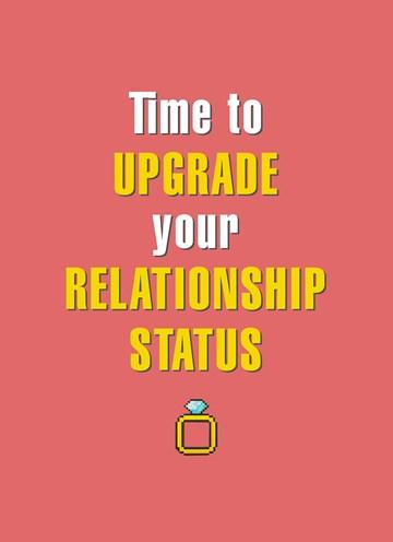 Huwelijkskaart - upgrade-you-relationshipstatus