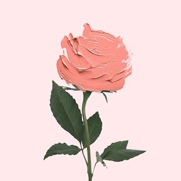 verjaardagskaart vrouw - roos-van-verf