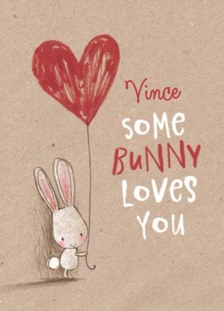 Paaskaart - some-bunny-loves-you-paaskaart-met-hartjesballon