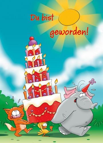 Geburtstagskarte Kind Junge - 64E2687C-648F-472B-9051-15020E0F8588