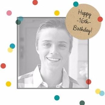 Verjaardagskaart leeftijden - verjaardagsfotokaart-happy-birthday