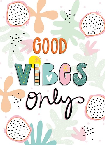 - Zomer-kaart-Good-vibes-only