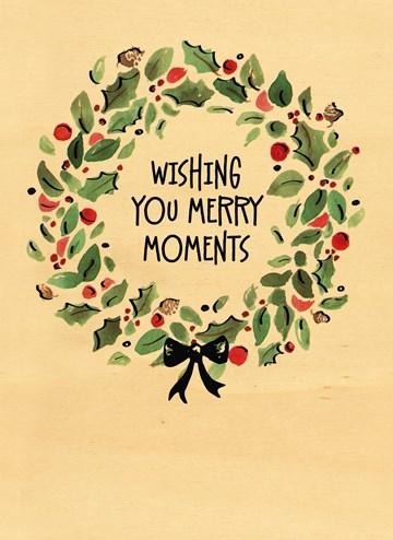 - houten-kerstkaart-wishing-you-merry-moments