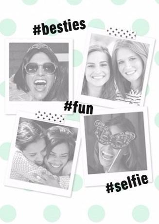 Valentijnskaart - fotokaart-hashtag-besties-fun-selfie-polaroid-fotoos