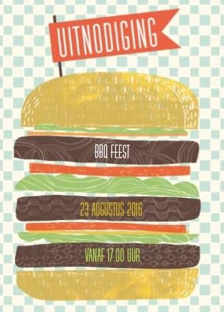 - hamburger-uitnodiging