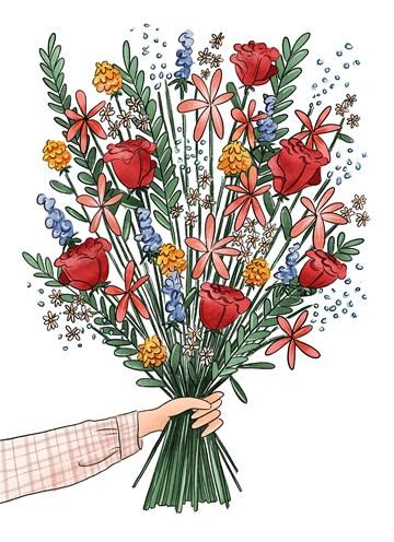 - Blanco-kaart-bos-bloemen-Matia-Studio