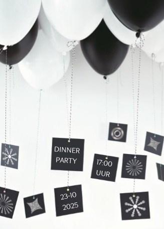 - ballonnen-zwart-wit-met-kaartjes