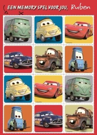 Beterschapskaart - disney-cars-een-memory-voor-jou