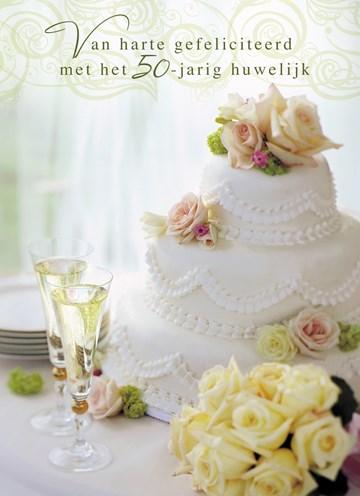 - bruidstaart-voor-gouden-huwelijk