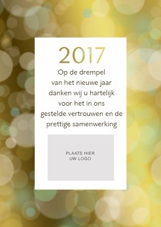 Zakelijke nieuwjaarskaart - fotokaart-staand-nieuwjaar-2017