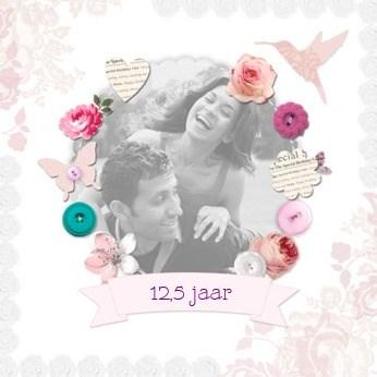 - fotokaart-huwelijk-met-hart-bloem-vlinder-vogel-etcetera