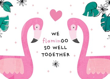 - Valentijnskaart-We-flamingo-so-well-together