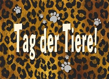 Tag der Tiere Karte - 8E4F3EB6-2FC0-4958-BA8A-7CC94539BDBE