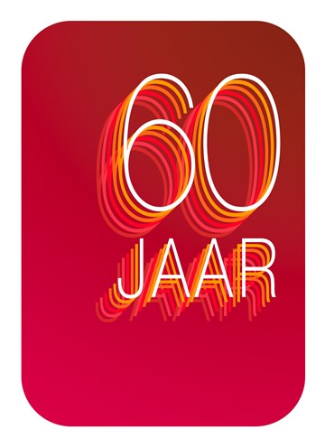 - Verjaardagskaart-60-jaar-rood
