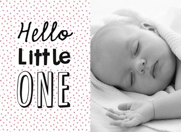 - fotokaart-hello-little-one-roze