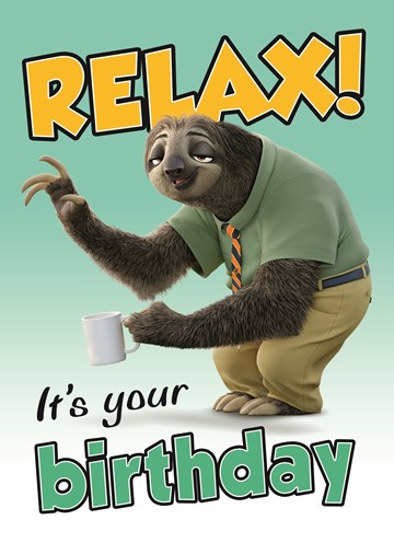 - disney-zootropolis-relax-its-your-birthday