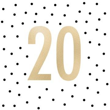 Gold & Fabulous - gouden-20-met-stippen