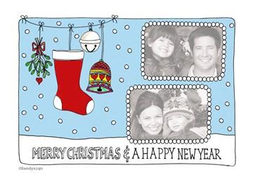 - kerst-sok-fotokaart