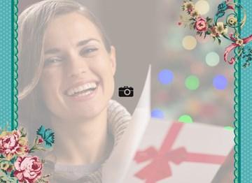 - fotokaart-twee-randen-aan-de-zijkant-en-bloemen