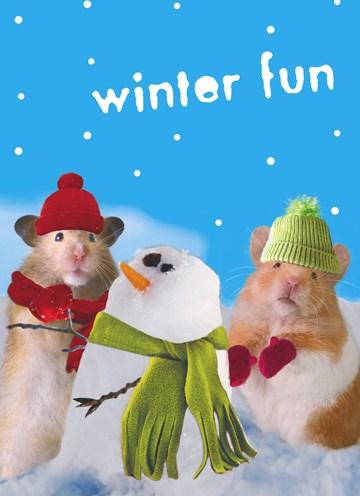 Winterkarte - Winter Grußkarte  - 8BACDAF2-587B-4F77-A209-1BEE5261332E