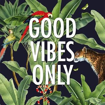 Verjaardagskaart vrouw - CLA-good-vibes-only-in-the-jungle