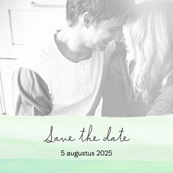Uitnodiging maken - fotokaart-save-the-date