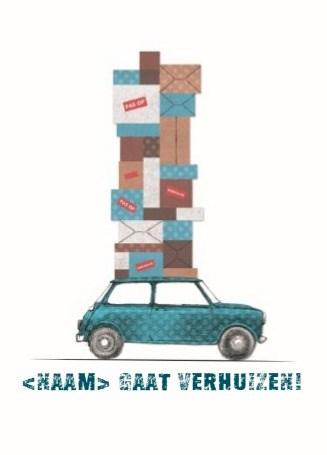 Uitnodiging maken - verhuis-auto-dozen-