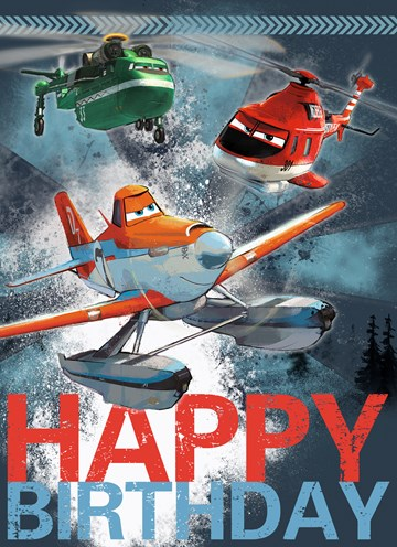 Disney kaart - happy-birthday-planes