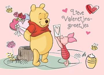 valentijnskaart - valentijn-lieve-valentijngroetjes