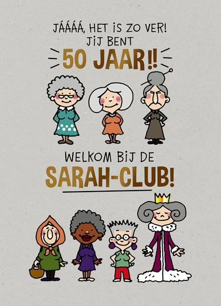 Hedendaags Kaarten - verjaardag leeftijden - verjaardagskaart 50 jaar   Hallmark NO-37