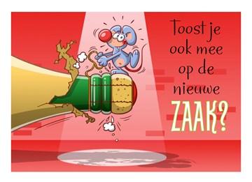 muis-laat-champagne-fles-knallen