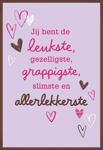 valentijnskaart - jij-bent-de-leukste-gezelligste