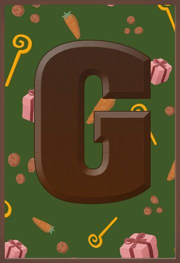 - Sinterklaaskaart-chocolade-letter-G