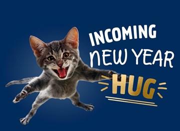 - nieuwjaarskaart-hip-incoming-new-year-hug