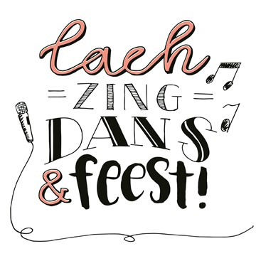 - text-it-kaart-lach-zing-dans-en-feest