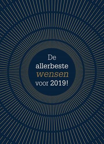 Nieuwjaarskaart - nieuwjaar-de-allerbeste-wensen