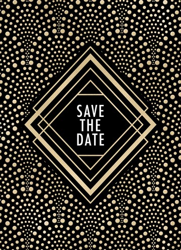 - Kerst-uitnodiging-Save-the-date-Chique