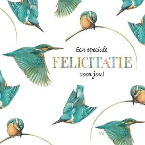 verjaardag vrouw vogels
