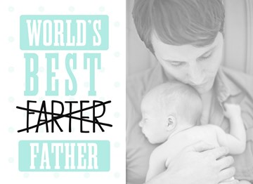 - fotokaart-worlds-best-farter-father
