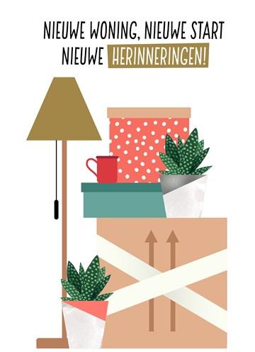 Kaarten Nieuwe Woning Verhuisd Hallmark