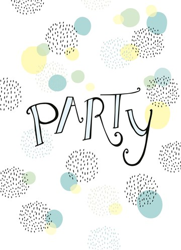 - Partytekst