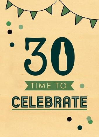 verjaardagskaart 30 jaar Kaarten Verjaardag leeftijden   30   49 | Hallmark verjaardagskaart 30 jaar