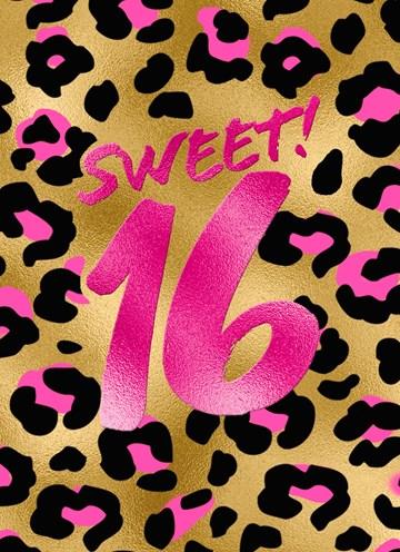 - Verjaardagskaart-sweet-16-tiener-meisje