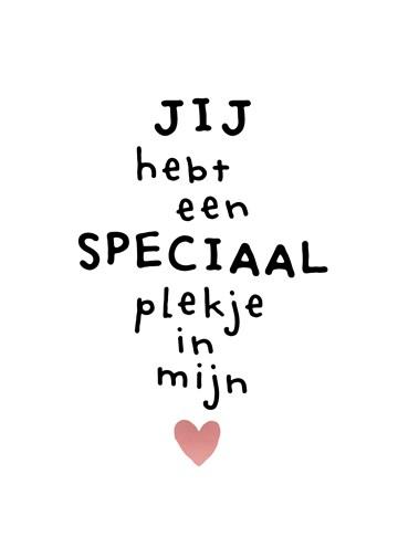speciale vriendschap liefde