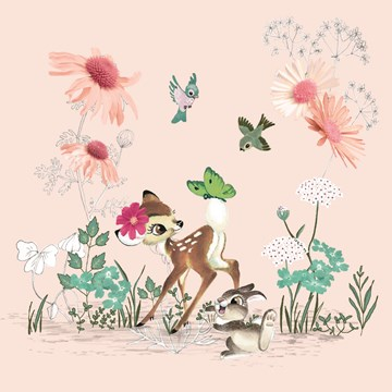 Disney kaart - disney-adult-bambi-blanco