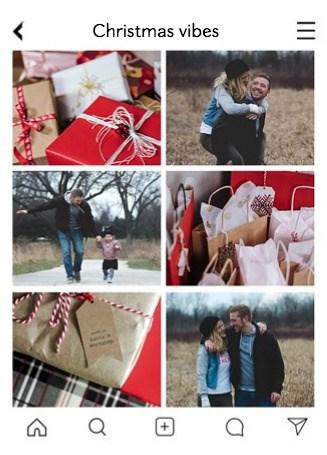 - kerstfotocollagekaart
